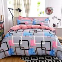Modern Geometric Cotton Bedding Quilt Cover Duvet Cover Set Twin Queen King Size