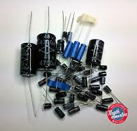 Drake R7 Receiver radial/axial electrolytic capacitor kit