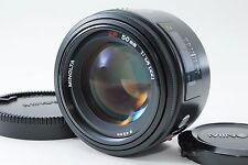 Minolta AF 50mm f/1.4 Sony α A-Mount Lens [Excellent++] Free Shipping From Japan