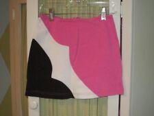 K.C. Parker Hartstrings girls knit pink black white skirt Sz 8