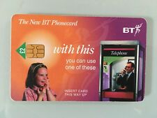 BT Phonecard The Arrival Of The New Chip Phone Card