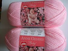 Red Heart Anne Geddes Baby yarn, Rosie (baby pink), lot of 2 (340 yds ea)
