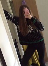 Lady Ralph Lauren Sweater Jumper Snowflakes Turtleneck L NEW RRP £300