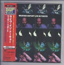 WEATHER REPORT Live In Tokyo 2cd JAPAN mini lp cd papersleeve SICP 1240-1 NEW