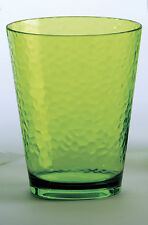 Certified International Small Glasses - Set of 4 GREEN