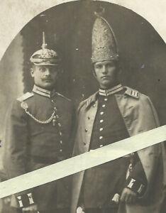 Foto Portrait 1.Garde-Regiment zu Fuß Potsdam Paradeuniform mit Grenadiermütze