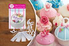 100 pieza Torta Y Galleta Decoración conjunto Carta plantillas Glaseado Bolsas