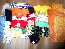 Baby 9-12 month boys bundle summer clothes some Bnwt boys hat Tshirts dinosaur