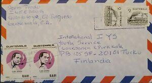 A) 1991, GUATEMALA, MIGUEL ANGELA ASTURIAS CULTURAL CENTER, FROM EL PROGRESO TO