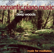 VARIOUS ARTISTS - ROMANTIC PIANO MUSIC WITH DEEP WOODS - CD, 1999