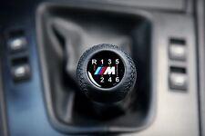 BMW MOTORSPORT 6 SPEED SHORT GEAR SHIFT KNOB E34 E36 E39 E46 E60 E90 M3 M5 M6