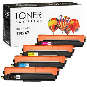 Toner XXL kompatibel für Brother TN-243 TN-247 TN243 TN247 mit Chip DCP-L3510CDW