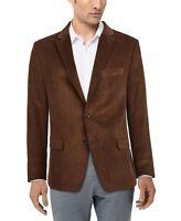 Ralph Lauren Mens Chocolate Brown Corduroy Blazer Sport Coat NWT $295 Size 46 R