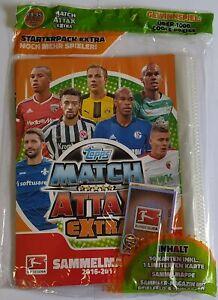 Match Attax Bundesliga 2016-2017 Starter Pack Binder + Limited Card