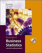 Essentials of Business Statistics with Student CD-ROM (McGraw-Hill/Irwin Series