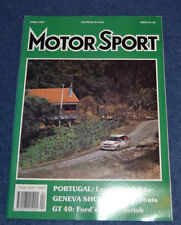 April Motorsport Monthly Sports Magazines