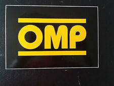 Adesivo OMP 16,5 x 11 cm - racing car rally sticker