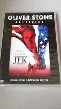 """DVD """"JFK CASO ABIERTO"""" PRECINTADA MONTAJE DEL DIRECTOR OLIVER STONE EDICION ESPE"""