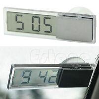 display digitale auto ventosa parabrezza cruscotto mini orologio automatico