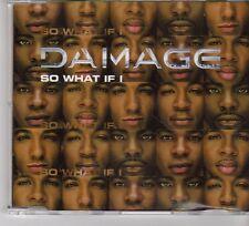 (FP1) Damage, So What If I - 2001 DJ CD