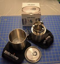 LITE by Solo Stove Combo Kit twig burning gasifier Small Stove and Pot 900 Set ☦