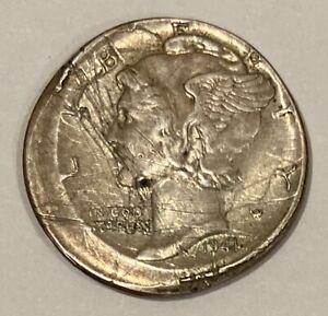 1941-s mercury dime error strike