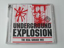 Underground Explosion - The Real Garage Mix (2 x CD Album) Used Good