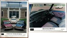 Mini 35 SE & Mini No 1 original colour Press Photographs x 2 Pub. Nos. 467 & 468