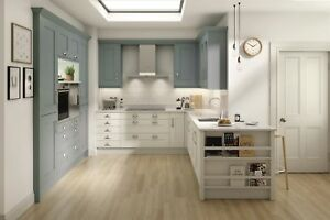 Milbourne Paint to Order, Rigid Built Shaker Kitchen in 32 colours Second Nature