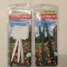 More details for 10 tee labels, widger and dibber set
