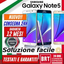 NUOVO SMARTPHONE SAMSUNG GALAXY NOTE 5 SM-N920V 32GB 64GB 12 MESI GAR! (3 4 TOP!