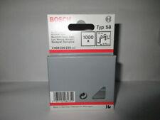 Bosch Flachdrahtklammer Tackerklammern Typ 58, 13 x 0,75 x 8mm Neu in Box
