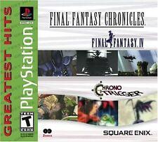 New Final Fantasy Chronicles (Chrono Trigger, Final Fantasy IV) PS Playstation 1