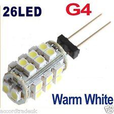 G4 SMD 3528 26 LED DC 12V 2W RV Marina barco lámpara bombilla Camper vendedor de Reino Unido