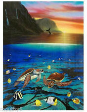"""WYLAND """"ANCIENT MARINER"""" NEW S/N GICLEE ON CANVAS"""