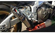 APRILIA TUONO V4 2017 AUSTIN RACING GP2R EXHAUST SYSTEM MOTOGP TITANIUM short