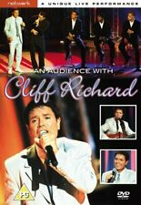 AN AUDIENCE WITH CLIFF RICHARD. New sealed DVD.