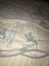Wamsutta Supercale Plus Pair Standard Floral Scalloped Pillowcases Never Used