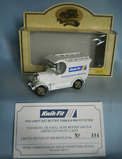 LLEDO DAYS GONE BULLNOSE MORRIS VAN KWIK-FIT - LIMITED EDITION N. 494/500