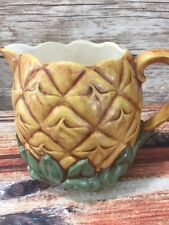 Vintage Cemar Pottery 831 Pineapple California Tropical Sangria Pitcher