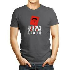 New listing Life is simple Eat, sleep and Paraglide T-shirt