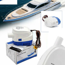 1100GPH Boat 24V Marine Automatic Submersible Bilge Auto Water Pump Float Switch