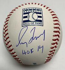 Greg Maddux Signed MLB Baseball MLB Authentic #JD354234 Braves w/ Inscription