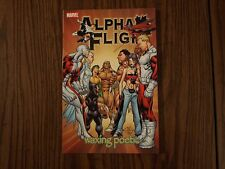 Marvel Comic TPB Graphic Novel Alpha Flight: Waxing Poetic