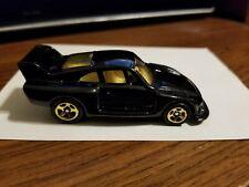 WOW! Hot Wheels PACKAGE PULL FAO SCHWARZ Gold series III Black Enamel PORSCHE