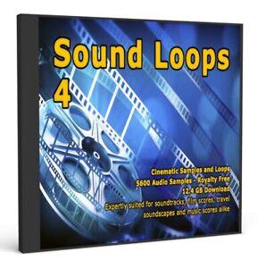 Sound Loops 4 Cinematic Collection 5000 WAV Loops Music Sample Packs Studio
