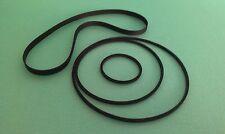 Riemen f BASF D-6635 HIFI FULL AUTOMATIC STOP Cassette Tape Deck Rubber Belt-Kit