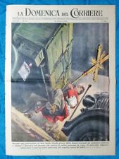 La Domenica del Corriere 30 ottobre1949 Riolo Bagni - Calascibetta - Amm.Canaris