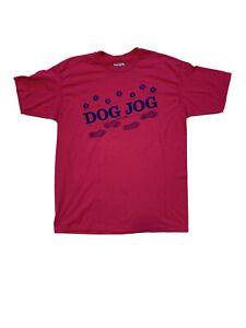 "22"" Vintage 80s IGUANA T Shirt XL Pink Lizard Jungle Flowers Hanes NOS Tee W"