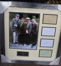 """LAST of the SUMMER WINE  """"COMPO"""" """"CLEGGY"""" """"FOGGY"""" """"BILLY"""" SIGNED MONTAGE AFTAL"""